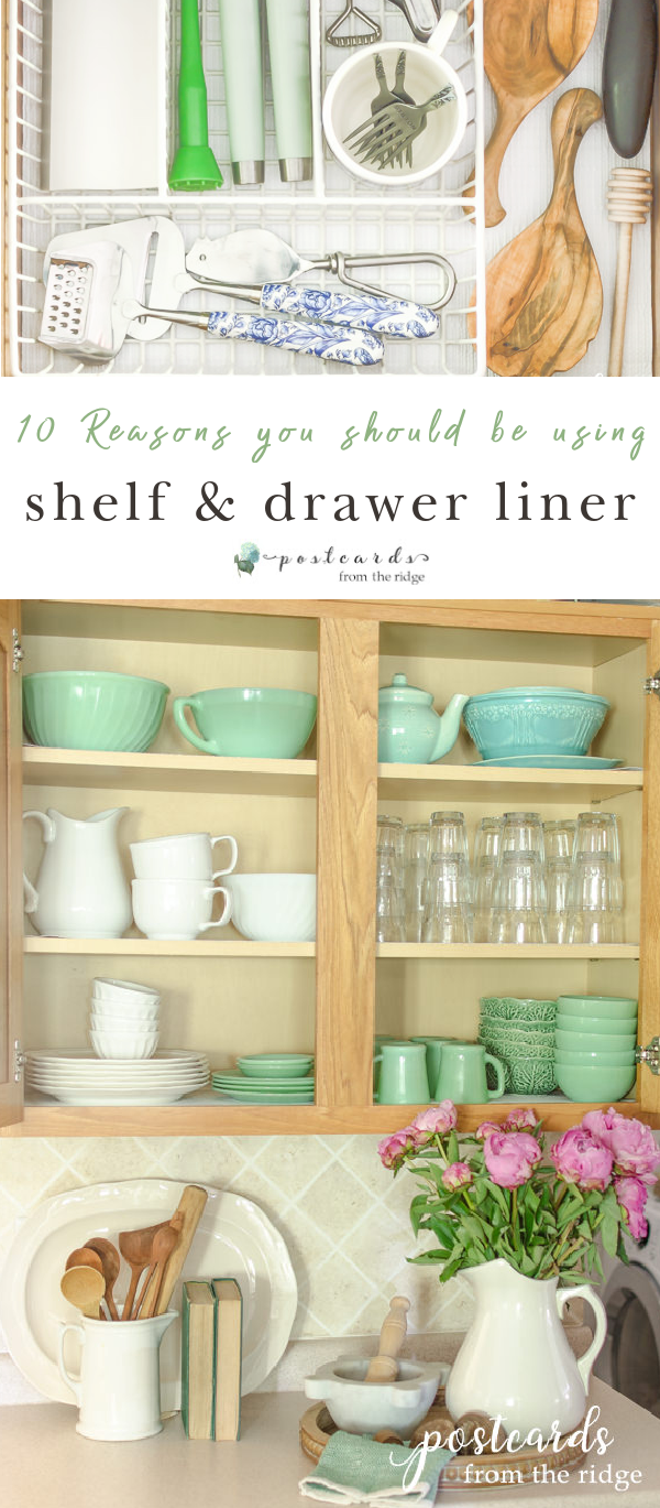 organized drawer and cabinet