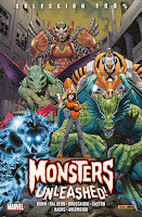 100% MARVEL. MONSTERS UNLEASHED! LA COLECCIÓN COMPLETA