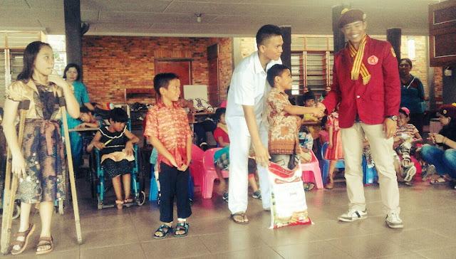 Valentine: PMKRI Pematangsiantar Berbagi Kasih di Pusat Rehabilitasi Harapan Jaya