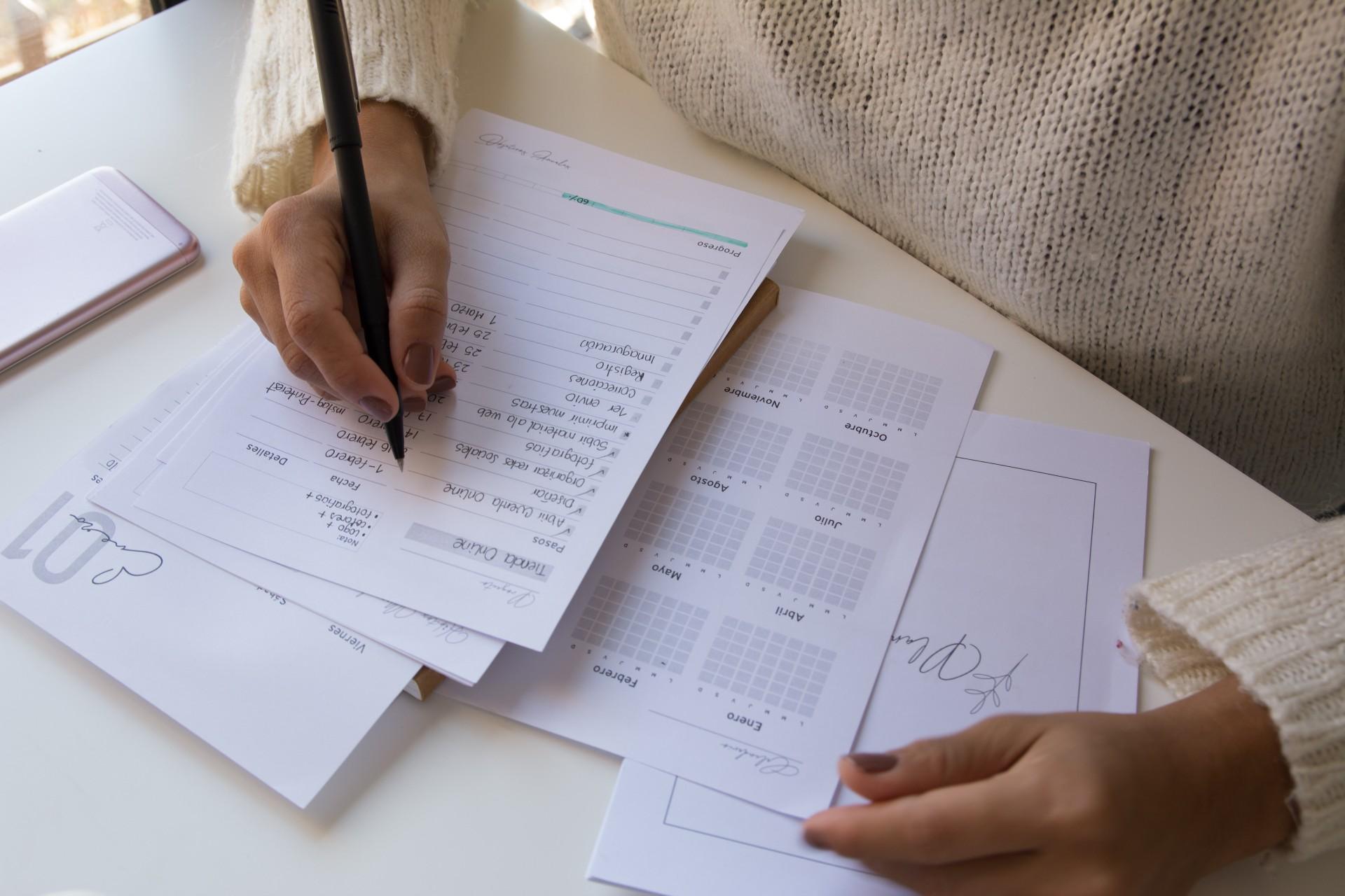 10 pagine essenziali per il tuo Business Bullet Journal