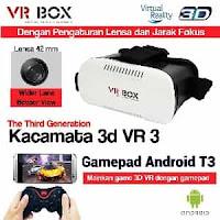 Cara Menggunakan Virtual Reality VR Box 3D atau Google Cardboard