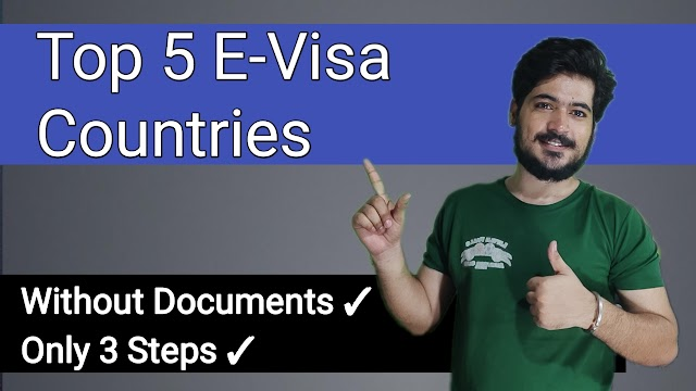 5 Easy Countries  For E-Visa Without Documents - Every Visa