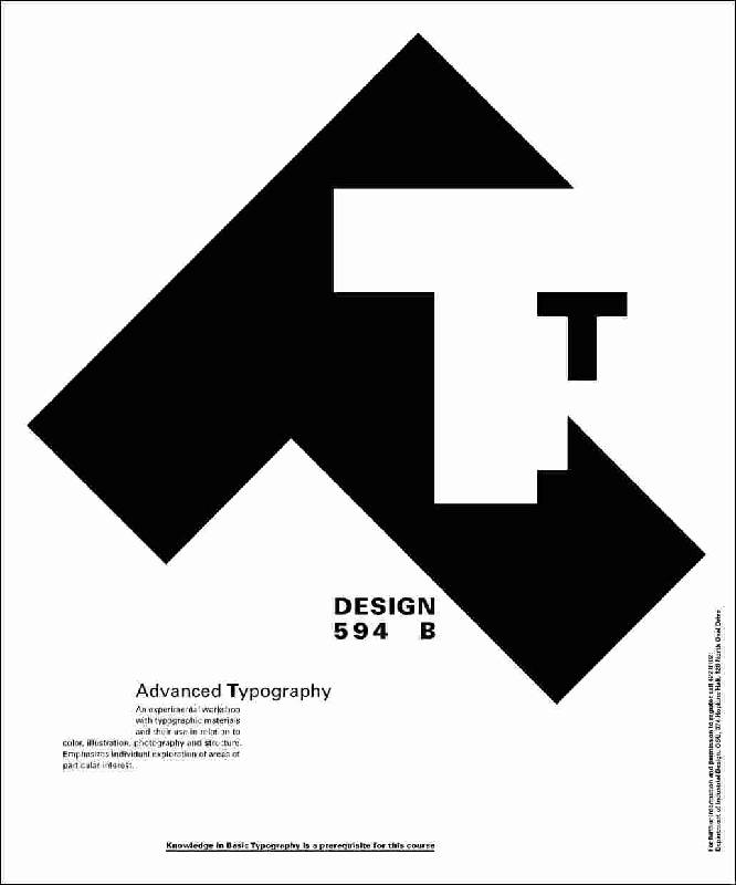 Poster Art: Different Ways To Use Typography _ Willi Kunz