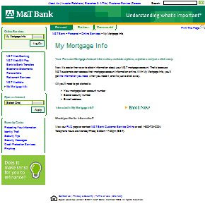Www Mtb Com Mymortgageinfo My Mortgage Info My Suggestion