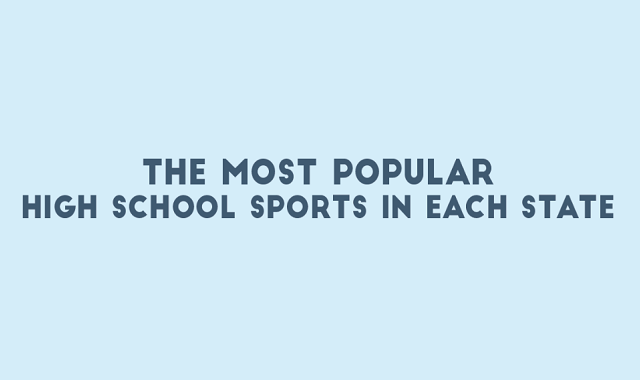The Most Popular High School Sports in Each State