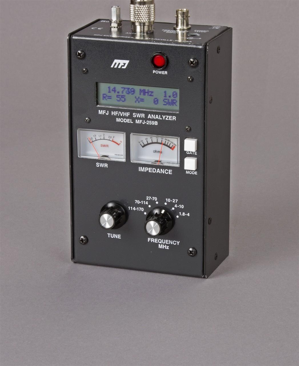 The Morse Sagas: MFJ 259b Antenna Analyzer - An Update
