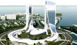 Keren! Indonesia Bakal Punya Twin Tower Saingi Menara Kembar Malaysia