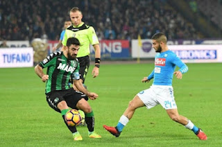 Watch Napoli vs Sassuolo live Stream video online Today 13/1/2019 online Italy Cup