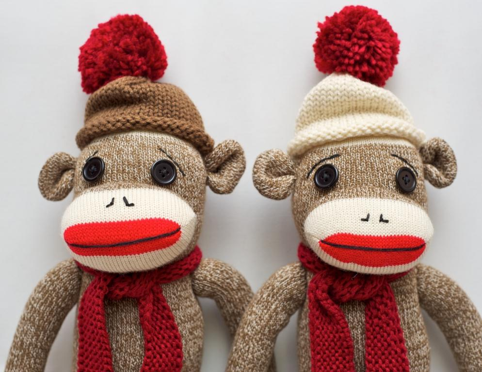 Janine Surviving With The Sock Monkey Story