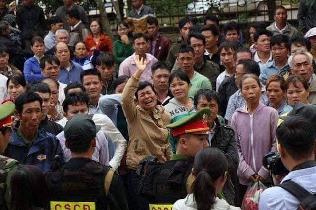 Cứu lấy anh Hùng Đặng Văn Hiến chống lại kẻ cướp đất và XHĐ làm tay sai