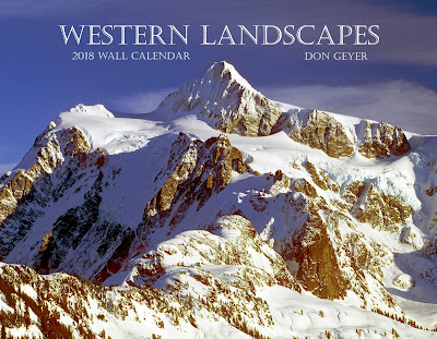 Western Landscapes 2018 wall calendar by Don Geyer