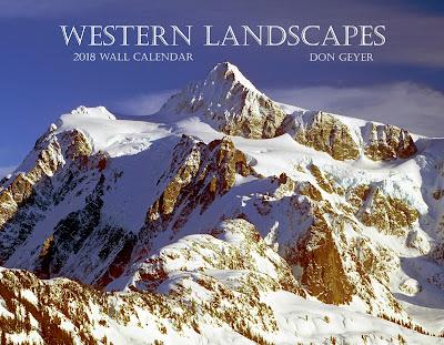 Western Landscapes 2018 wall calendar by Don Geyer