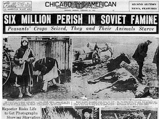 Holodomor, o genocídio de milhões de ucranianos: ainda um modelo para as esquerdas?