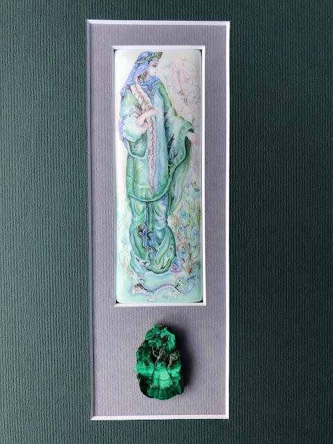 Russian art, Russian enamel, Lyudmila Kravchenko art