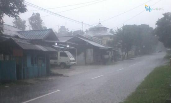 Prakiraan Cuaca Pemalang, Waspadai Potensi Hujan Sedang Saat Sore Nanti