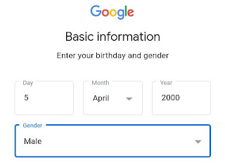 Date of birth email ID