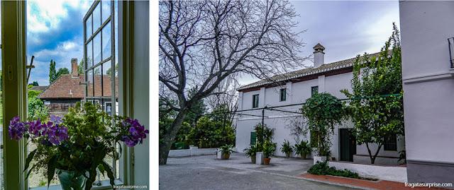 Casa Museu de Jane Austen, Chawton, Inglaterra, e Casa Museu García Lorca, em Granada, Espanha