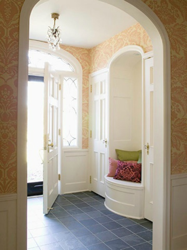 Foyer And Entryways Near Me : At rivercrest cottage entryway ideas on limited budget
