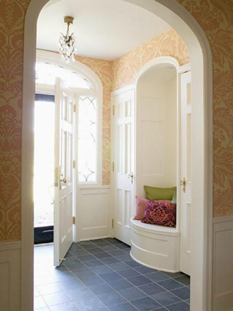 At Rivercrest Cottage Entryway Ideas On Limited Budget