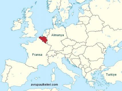 Belçika Avrupa'da Nerde