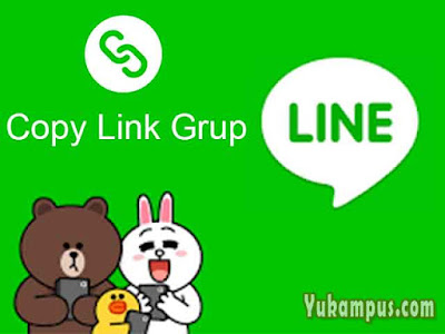 cara copy link grup line