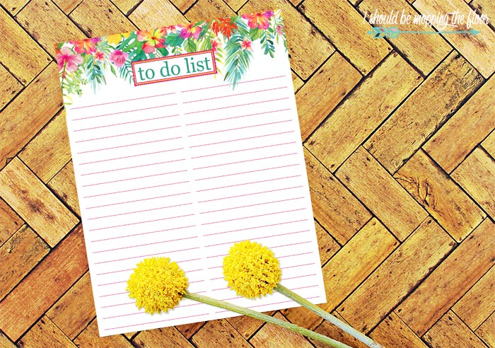 To Do List Free Printable