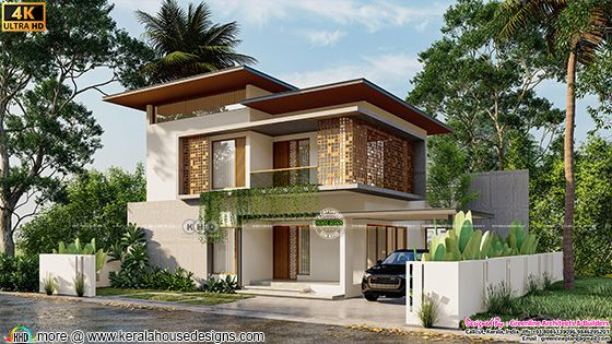4 bedroom front elevation house architecture