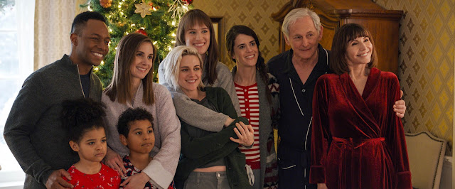 Kristen Stewart Mackenzie Davis Alison Brie Burl Moseley Mary Holland Mary Steenburgen Victor Garber Clea DuVall | Happiest Season