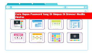 Cara Hapus Kata Sandi Yang Tersimpan Di Dalam Browser Mozilla FireFox