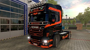 Scania RJL Black Knight