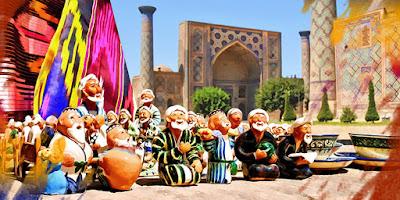 Treasure Chest of Oriental Adventures in Uzbekistan