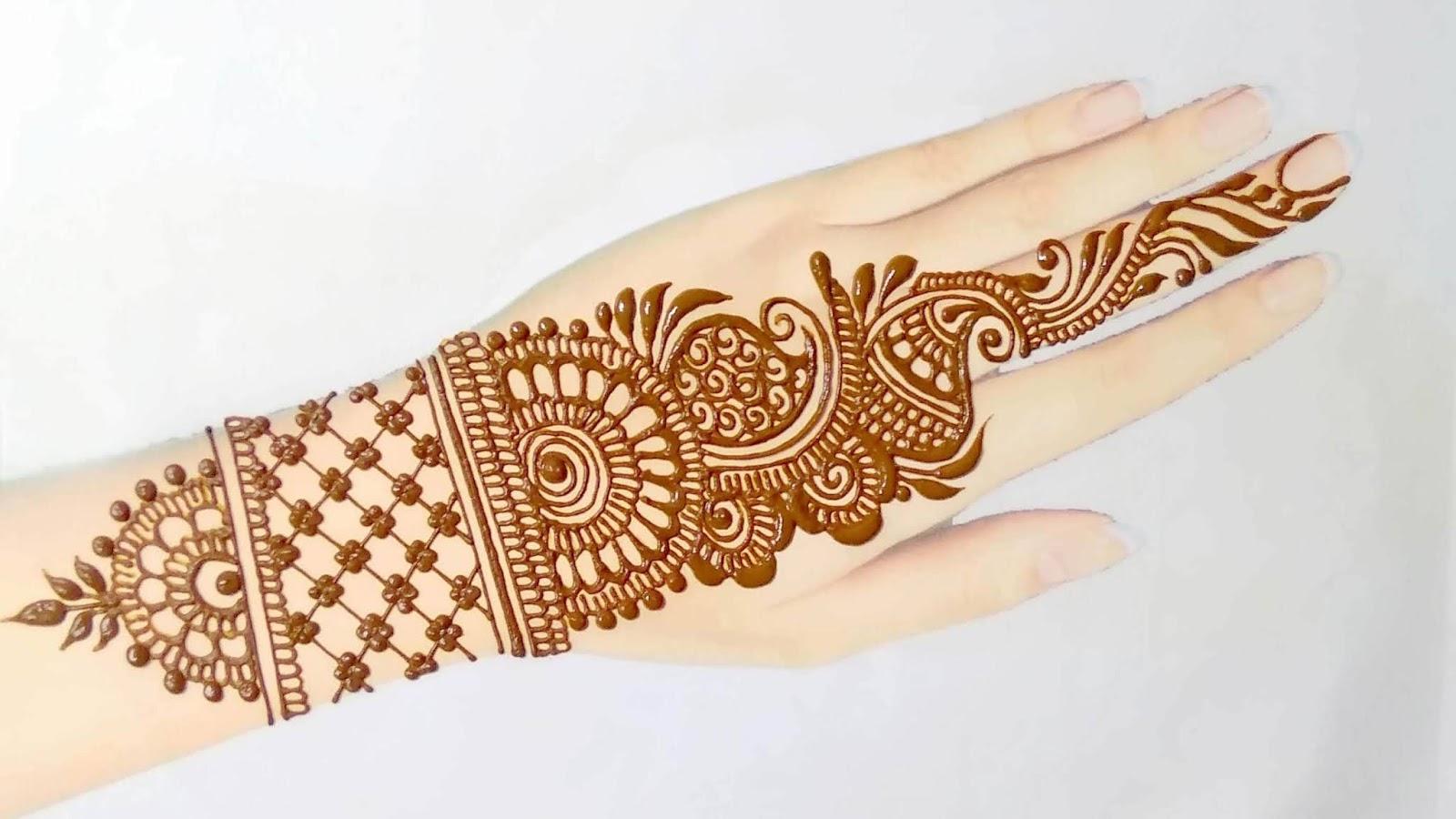 Back Hand Full Mehndi Design 2020