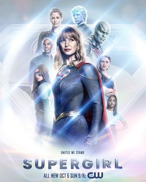 Novo visual da Supergirl