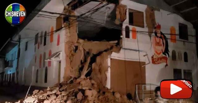 Fuerte terremoto superior a 6 grados fue sentido en Lima - Perú