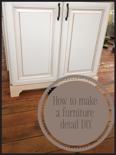 how to add a furniture detail to kitchen cabinets white wood   how to add a furniture detail to kitchen cabinets  rh   chriskauffman blogspot com