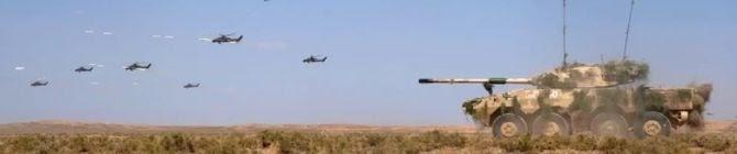 Indian Army Demonstrates Its Battle Drills, Firing Skills At ZAPAD 2021
