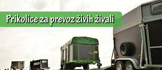 Prikolice za prevoz živih živali