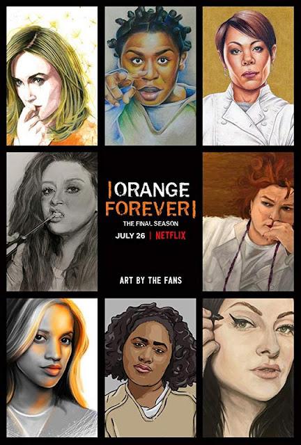 Poster de la temporada final de 'Orange Is The New Black'