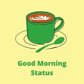 good morning status in hindi
