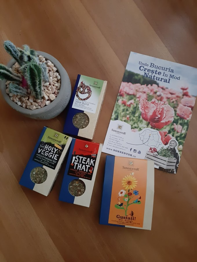 Ceaiuri și Condimente Ecologice  SONNENTOR