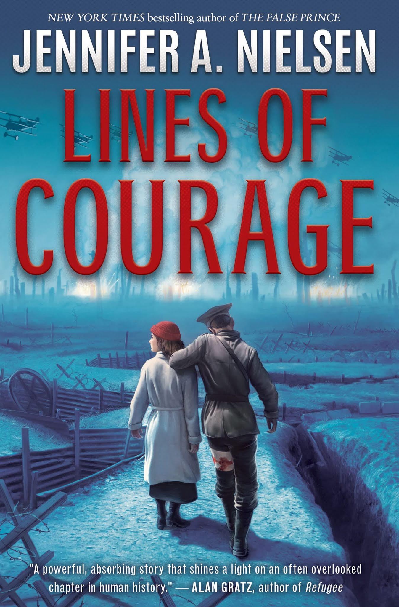 Lines of Courage by Jennifer A. Nielsen