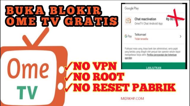 Cara Membuka Ome TV Lewat Browser