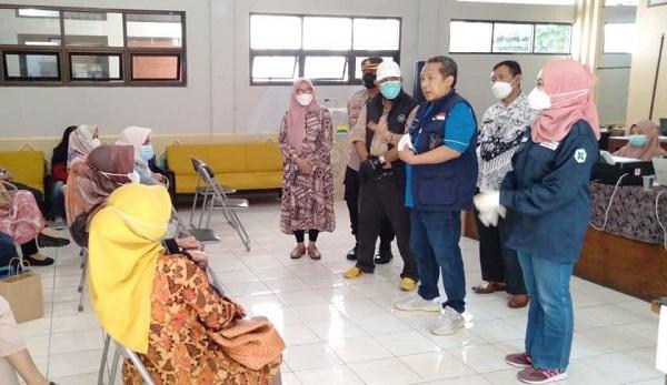 Percepat Target Vaksinasi Covid-19,  Pemkot Bandung Intruksikan Jemput Bola