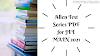 Allen Test Series PDF for JEE MAIN 2021