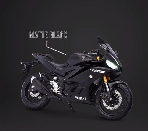 Yamaha R25 New Matte Black