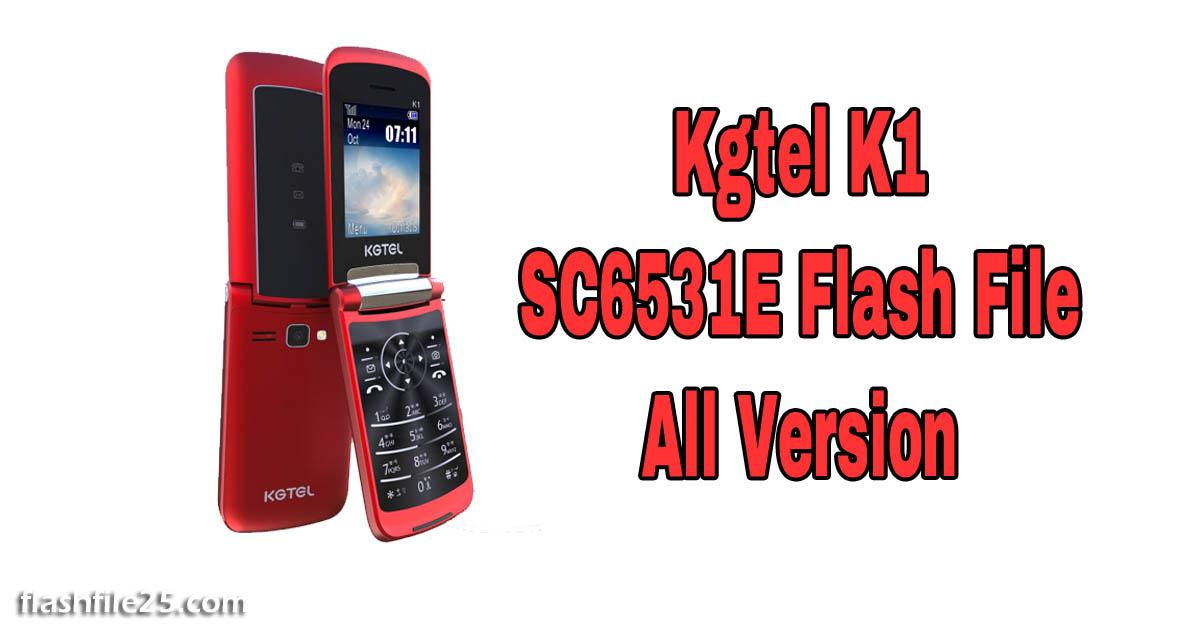 kgtel k1 flash file