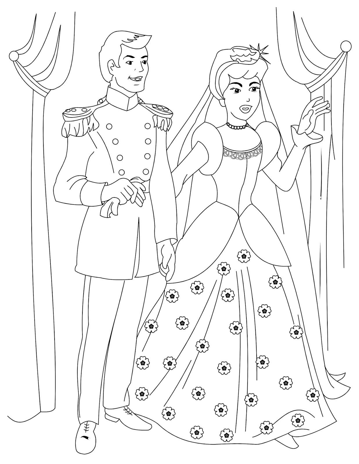 Bagi-Bagi Ajah: Cinderella Coloring Book