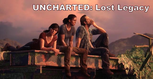 Uncharted lost legacy bannière