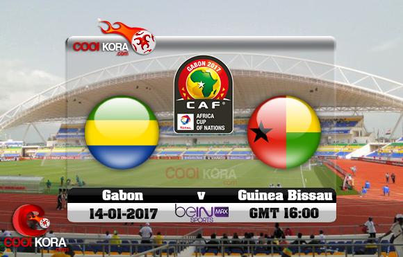 مشاهدة مباراة الجابون وغينيا بيساو اليوم كأس أمم أفريقيا 14-1-2017 علي بي أن ماكس
