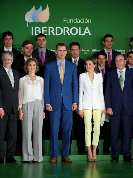 King Felipe and Queen Letizia attend the Delivery of Scholarships at Casa de America